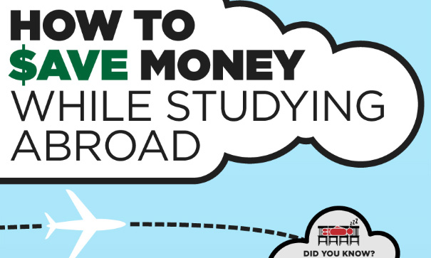 save money while studying abroad