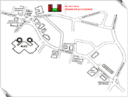 EMS Management Centre - Location Map