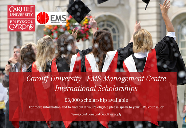 £3,000 Scholarship Available